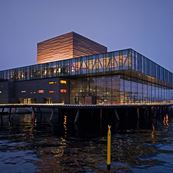 The Royal Playhouse - Outside at dusk